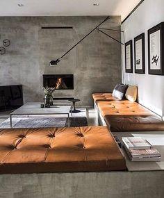 暖炉のある海外のインテリアコーディネート実例20選♡素敵な色使いにも注目! | folk