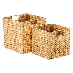 """$12.99 - Small Water Hyacinth Cube 10"""" sq. x 10"""" h Water Hyacinth Cubes 