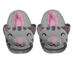 Stay warm and cozy with these officailly licensed Soft Kitty slippers.