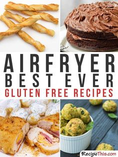 101 Philips Air Fryer Recipes For The Complete Beginner Philips Air Fryer Recipes. Introducing you to our full list of 101 air fryer beginner recipes that were all made using my Philips Air Fryer. These air fryer…. Air Fryer Recipes Gluten Free, Air Fry Recipes, Dairy Free Recipes, Gourmet Recipes, Bread Recipes, Fast Food, Fast Healthy Meals, Easy Meals, Healthy Recipes