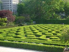 Labyrinth in Brussels