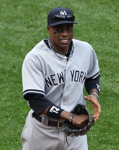 Curtis Granderson announces his retirement from professional baseball after a career over which he played for seven different teams. Curtis Granderson, New York Yankees Stadium, My Yankees, Jackie Robinson, Boston Sports, Mlb Teams, American League, Sports Stars, Sport Outfits