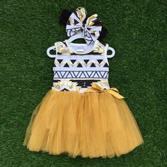 Girls Aztec Party Dress