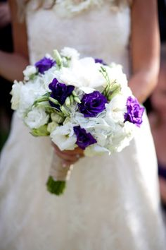 We love this flower and color arrangement here at Haiku Mill. Another dreamy bridal bouquet!