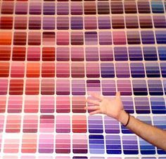 Credit Crunch Wallpaper - Free Paint Charts Make Brilliant Splash For Interior Design (GALLERY)