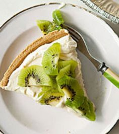 Kiwi-Lemon Cheesecake
