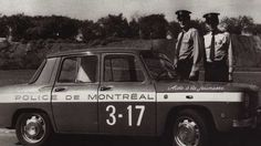 Montreal Police, 1970s Renault car. Police Vehicles, Emergency Vehicles, Police Cars, Montreal Ville, Police Uniforms, Canada, Commercial Vehicle, Cops, Motorcycle