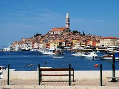Rovinj - I adore this small town in Istria. It's quaintness reminds me of Korcula.