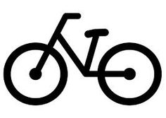 Resultado de imagen de bicicletas dibujos  shilouette  Pinterest
