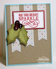 Sparkling Holiday by Stamper K - Cards and Paper Crafts at Splitcoaststampers