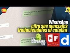 30 WhatsApp cifra sus mensajes traduciéndolos al catalán
