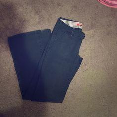 Black dress pants‼️‼️⬇️ Size 1, dress pants. Like new. 2 front pockets, 2 back pockets. 96% cotton, 4% spandex Pants Boot Cut & Flare