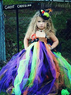 The Sassy Witch - Witch inspired tutu dress Newborn