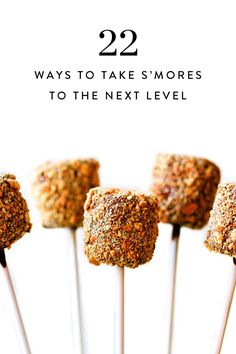 22 new and mouthwatering takes on the campfire classic, s'mores.