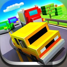 Download IPA / APK of Blocky Highway for Free - http://ipapkfree.download/12557/