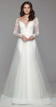 Courtesy of Tara Keely Wedding Dresses from JLM Couture; www.jlmcouture.com/tara-keely; Wedding dress idea.