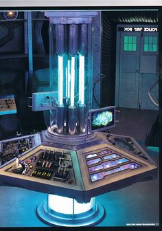 Doctor Who - 2012 Tardis Console Room by DoctorWhoOne.deviantart.com on @deviantART