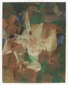 Kurt Schwitters. Picture with Light Center (1919)