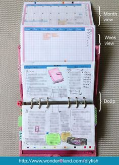 Free Life Mapping Planner Inserts - DIYFish