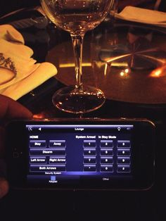 #C4Anywhere: Checking in on their #Control4 smart home while at dinner - Parklands, South Africa.