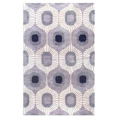 Fun for the floor.  I pinned this Fonzo Rug in Gray from the Bashian Designs event at Joss and Main!