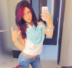 Rockstar Lifestyle. Pravana Vivids Red Pravana Hair Color, Cut And Color, T Shirts For Women, Lifestyle, Hair Styles, Red, Tops, Fashion, Hair Plait Styles