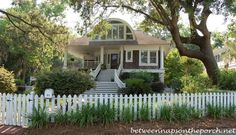 Home in Isle of Hope, Savannah featured on Between Naps on the Porch