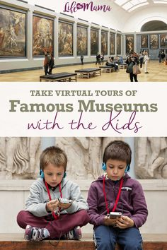 You Can Now Take Virtual Tours Of These World-Class Museums Without Leaving Your Home! Museums are offering virtual tours for you to take with the kids while you're indoors for a long time. Educational Activities, Learning Activities, Kids Learning, Activities For Kids, Virtual Museum Tours, Virtual Tour, Virtual Field Trips, Virtual Travel, School Closures