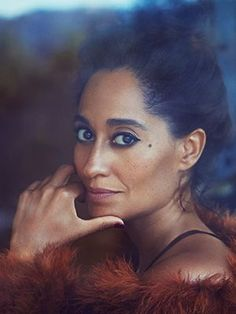 Tracee Ellis Ross giving Life @luvrumcake