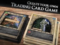 How to Make Your Own TCG (Trading Card Game) | Game, Make your and ...