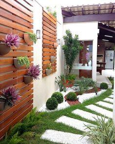 Side yard decor and design idea 25 litledress design in 2019 backyard lands Backyard Landscaping, Landscaping Ideas, Backyard Patio, Corner Landscaping, Modern Backyard, Modern Landscaping, Outdoor Gardens, Indoor Garden, Herb Garden