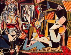 Algerian Women (after Delacroix) ~ Pablo Picasso