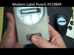 ▶ Stampin' Up! Two Minute Quick Tip: Make the Word Window Punch Different Sizes! - YouTube