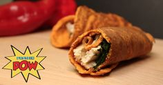 Red Pepper Protein Wraps (Low-Carb & Gluten-Free) - Protein Pow