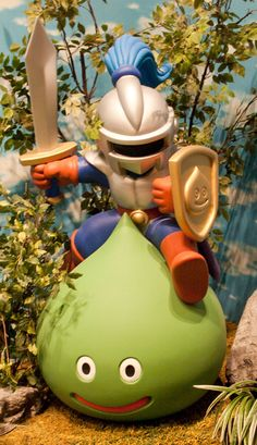 dragon quest slime knight - Google Search Dragon Warrior, Game Costumes, Dragon Quest, Mario Brothers, Baby Party, News Games, Game Character, Arcade Games, Old And New