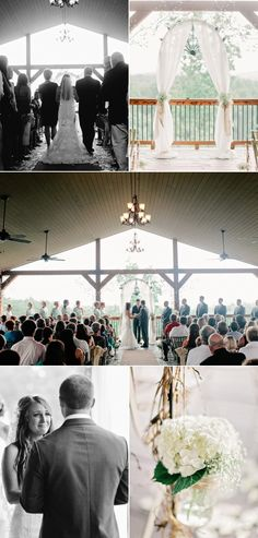 Wolf Mountain Vineyards Wedding from Amy Arrington Photography | Style Me Pretty
