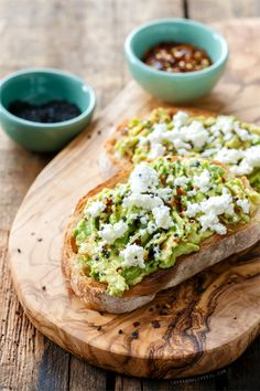 Goat Cheese & Avocado Toast | Love and Olive Oil