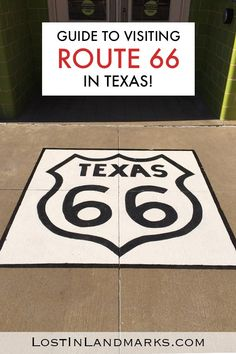 What not to miss when on a road trip and exploring Route 66 through Texas. All the quirky attractions, diners, neon, small towns and sights to see. Texas Roadtrip, Texas Travel, Travel Usa, Canada Travel, Canada Destinations, Road Trip Destinations, Route 66 Road Trip, Road Trips, Route 66 Attractions