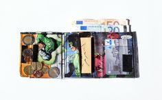 Portemonnaies - Portemonnaie GREEN LANTERN Comic Upcycling Unikat - ein Designerstück von PauwPauw bei DaWanda