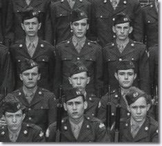 Elvis Presley Reserve Officer Training Corps - Humes High School.