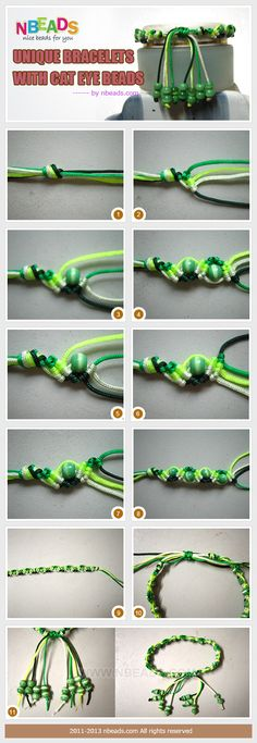 Unique Bracelets With Cat Eye Beads Pictures, Photos, and Images for Facebook, Tumblr, Pinterest, and Twitter