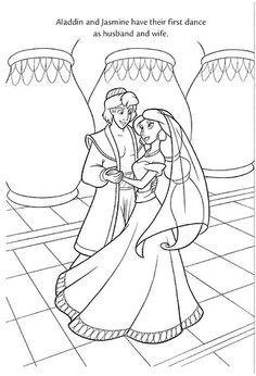 wedding wishes 24 by disneysexual via flickr disney princess jasmine aladdin disney coloring pagescoloring