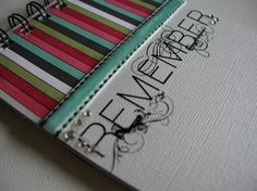 SALE ITEM   Remember MiniBook by jessicabree on Etsy