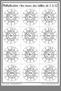 Multiplication Times Tables Worksheets – 6 & 7 Times Tables – Six Worksheets / FREE Printable Worksheets Maths Times Tables, Times Tables Worksheets, Math Tables, Free Printable Worksheets, Kindergarten Worksheets, Preschool Kindergarten, Maths Worksheets For Kids, 4th Grade Math Worksheets, Tracing Worksheets