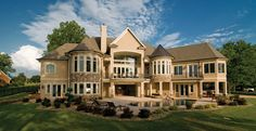 Just a SMALL 6,155 Square Feet, 4 Bedroom 4 Bathroom European Home with 3 Garage Bays ... Dreams