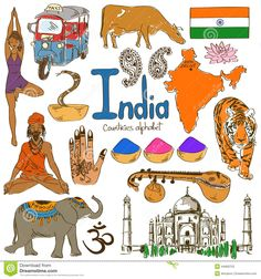 Collection Of India Icons - Download From Over 28 Million High Quality Stock Photos, Images, Vectors. Sign up for FREE today. Image: 44669703