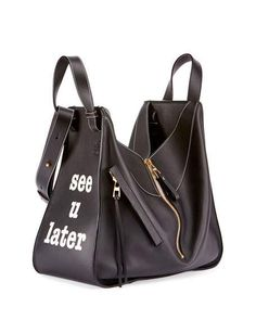 Hammock See You Later Leather Satchel Bag
