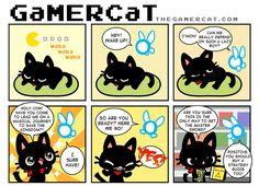 Hey, Listen! #thegamercat #geek