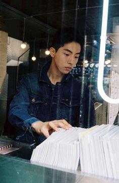 nam joo hyuk so cute :)