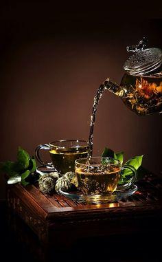 flowering tea - Kiss Me Organics / Tea / Coffee, Tea & Cocoa: Grocery & Gourmet Food Coffee Time, Tea Time, Tee Kunst, Foto Fantasy, Café Chocolate, Pause Café, Tea Art, My Cup Of Tea, Tea Ceremony